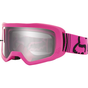 Fox Main II Race Goggles Jongeren, pink/clear